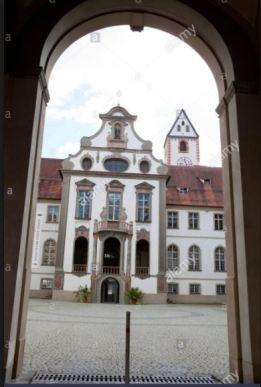 St Magnus Monastery in Bavaria