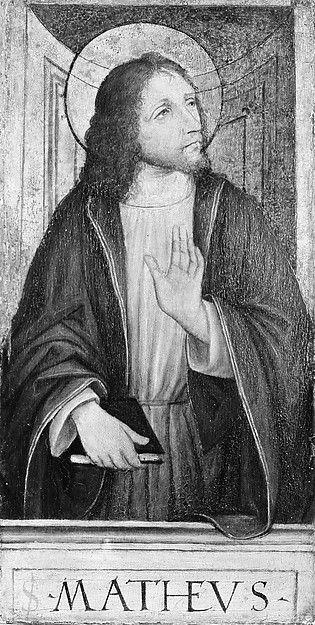 ST MATTHEW APOSTLE AND EVANGELIST