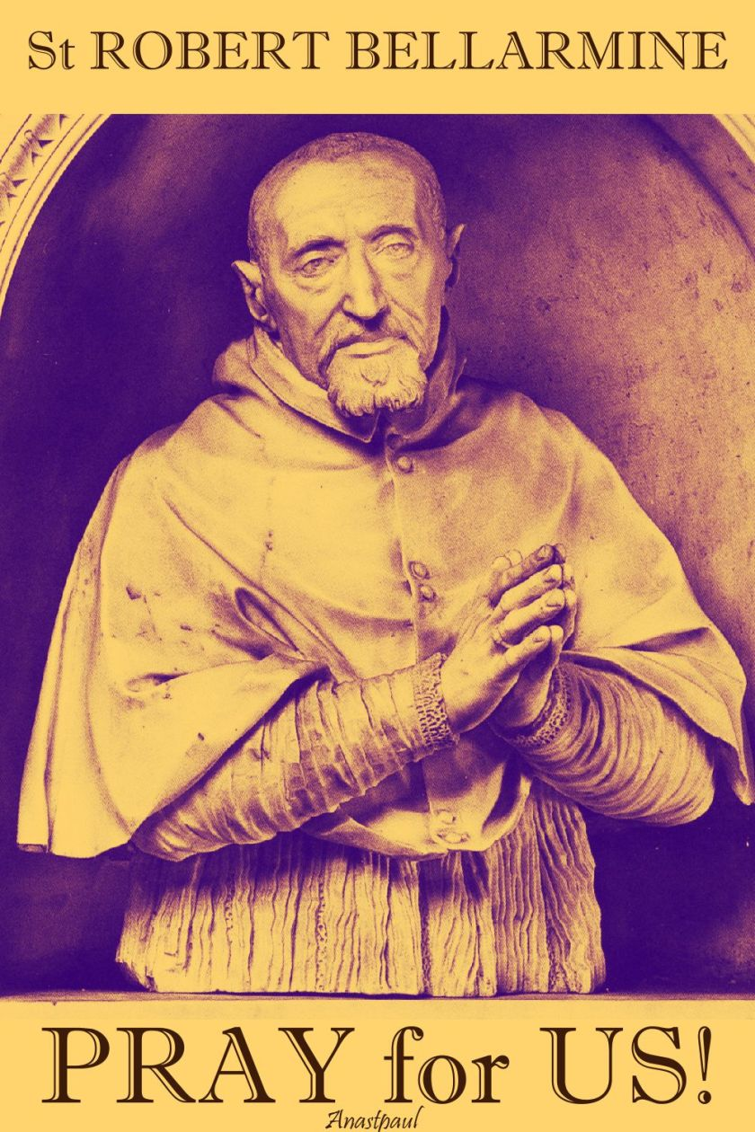 st robert bellarmine pray for us 17 sept 2017