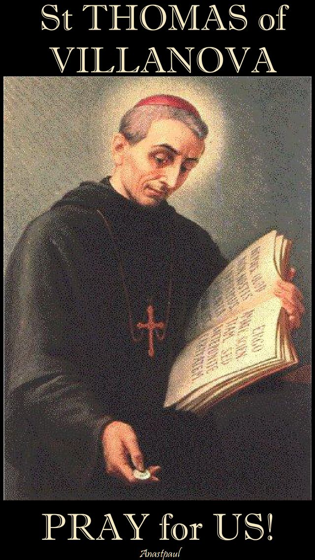 st thomas of villanova pray for us.2