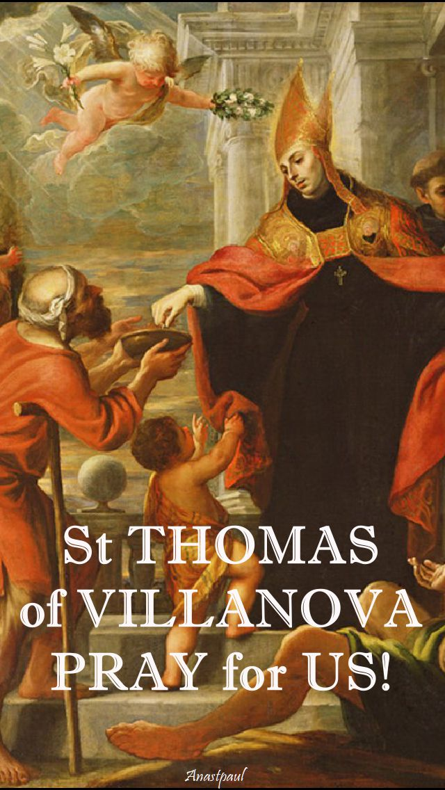 st thomas of villanova pray for us.3