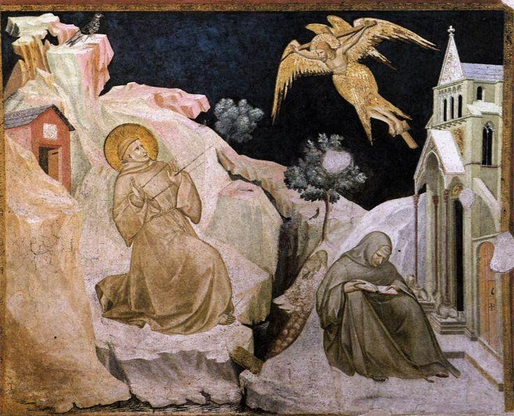 Stigmata of St Francis by Pietro Lorenzetti