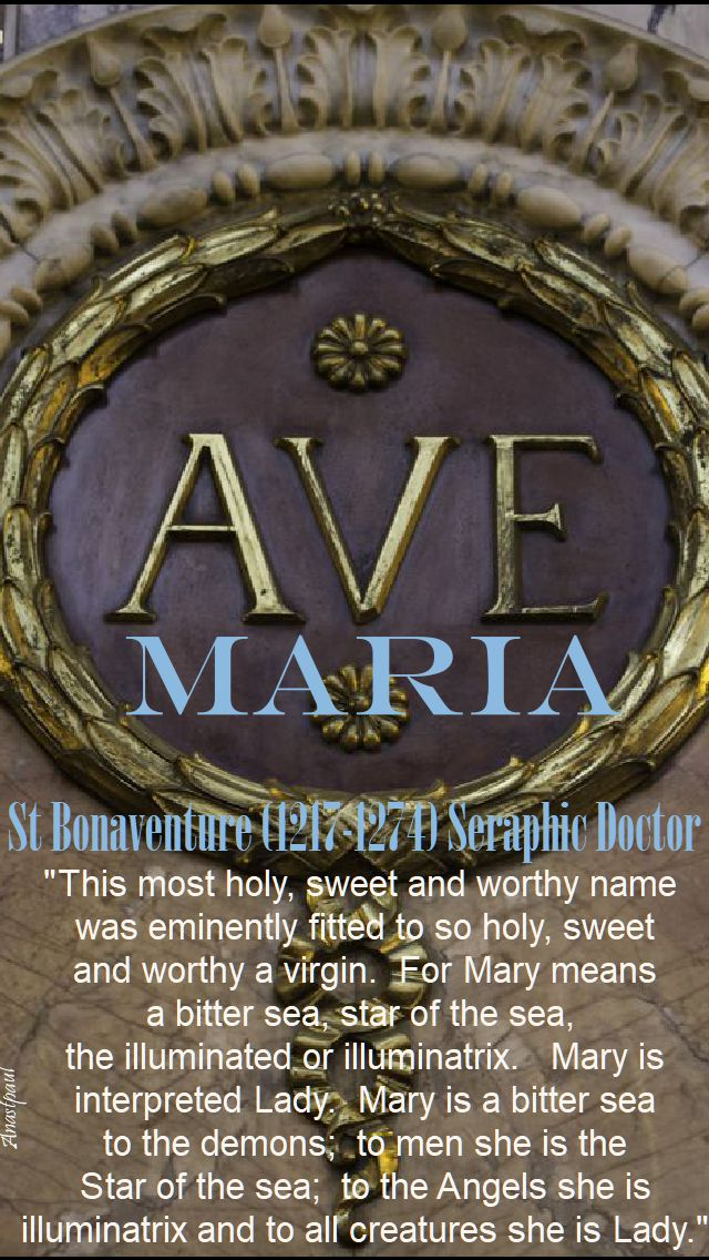 this most holy sweet and worthy name - st bonaventure.2