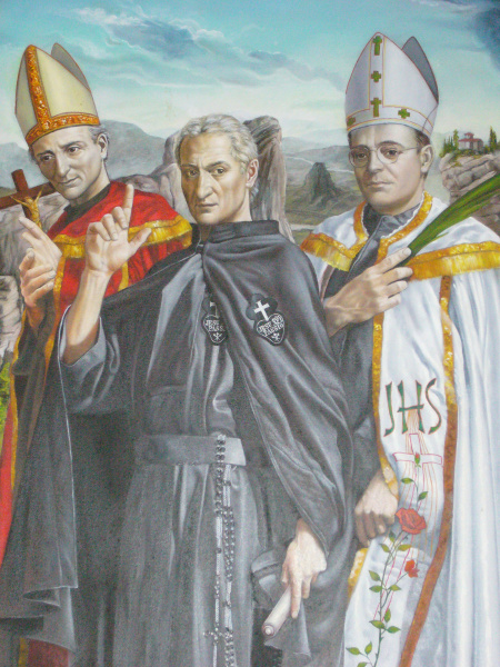 Three Passionists – Saint Vincent Strambi, St. Paul of the Cross and Blessed Eugene Bossilkov