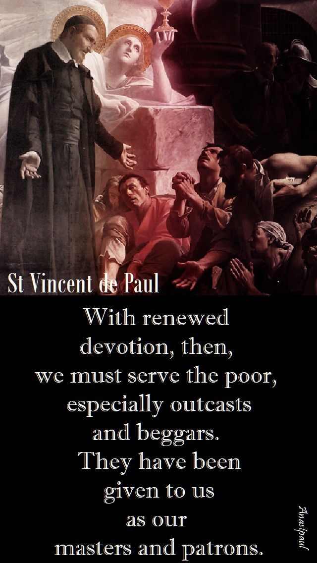 we renewed devotion - st vincent de paul - 27 sept 2017