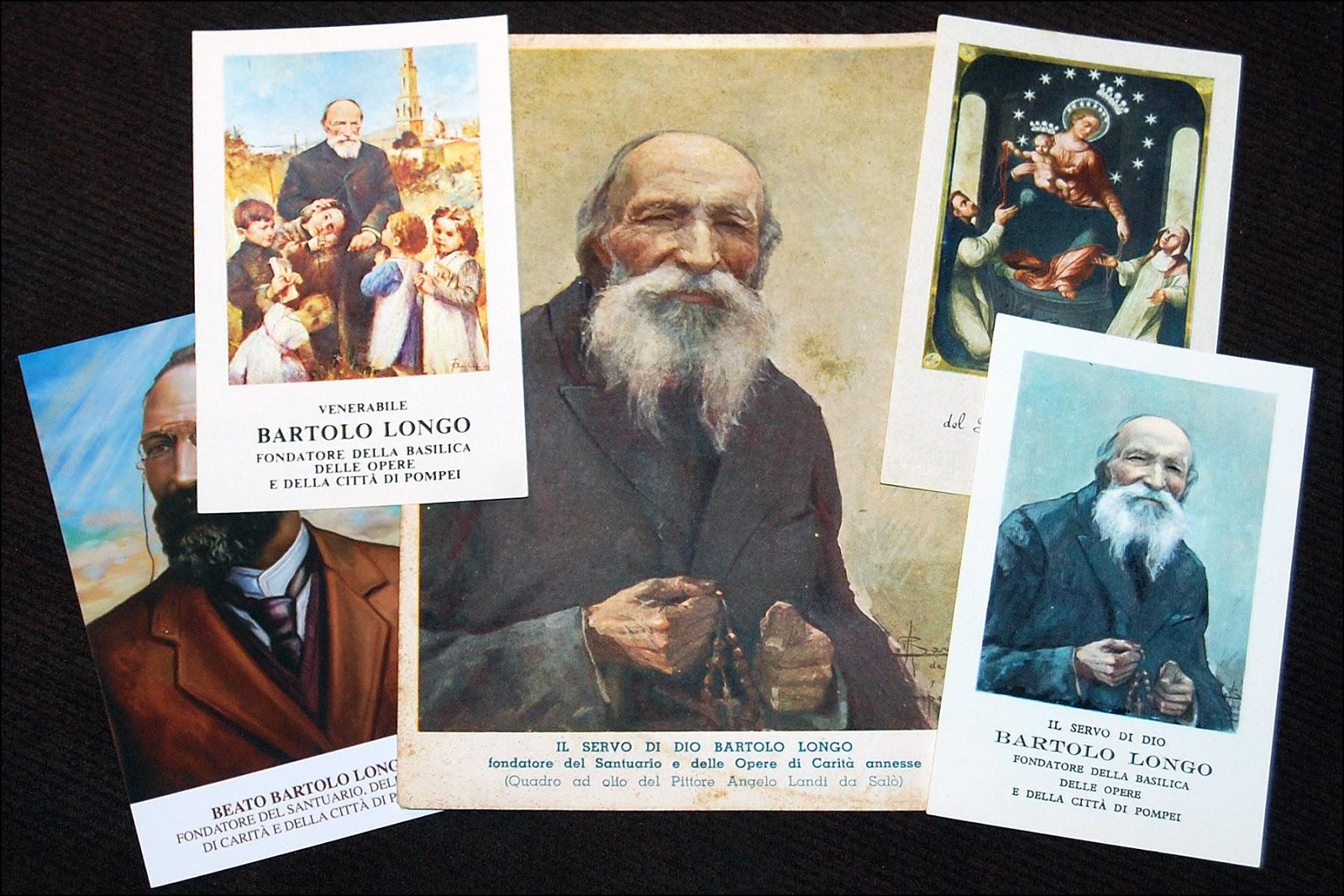 Bartolo Longo prayer cards