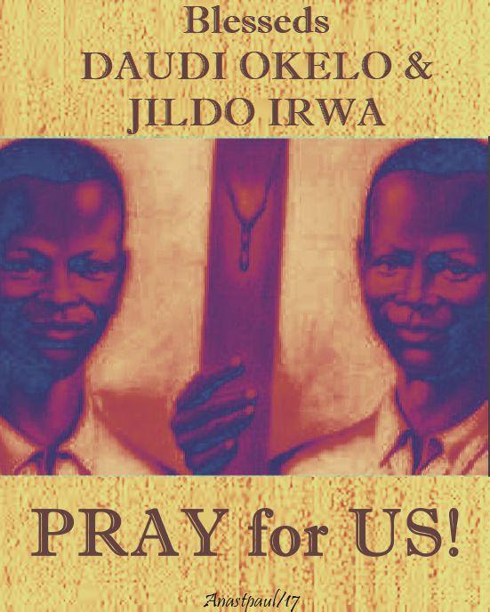 bls daudi and jildo pray for us - 20 oct 2017