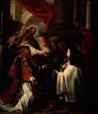 communion of st teresa - claudio coello