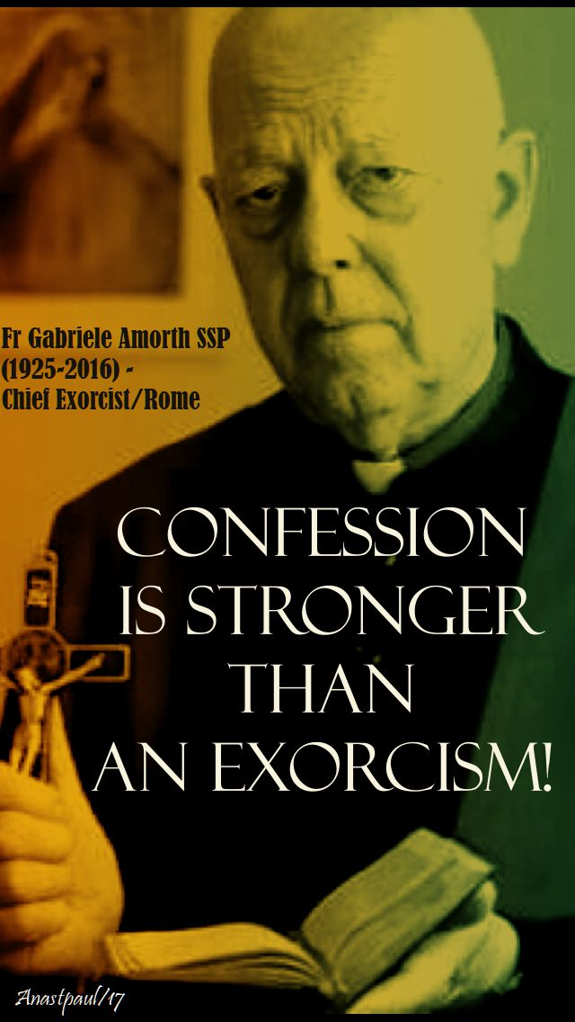confession is stronger - fr armorth - 25 oct 2017