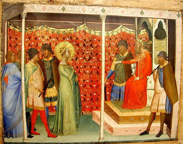 Daddi, St. Reparata Before the Emperor Decius
