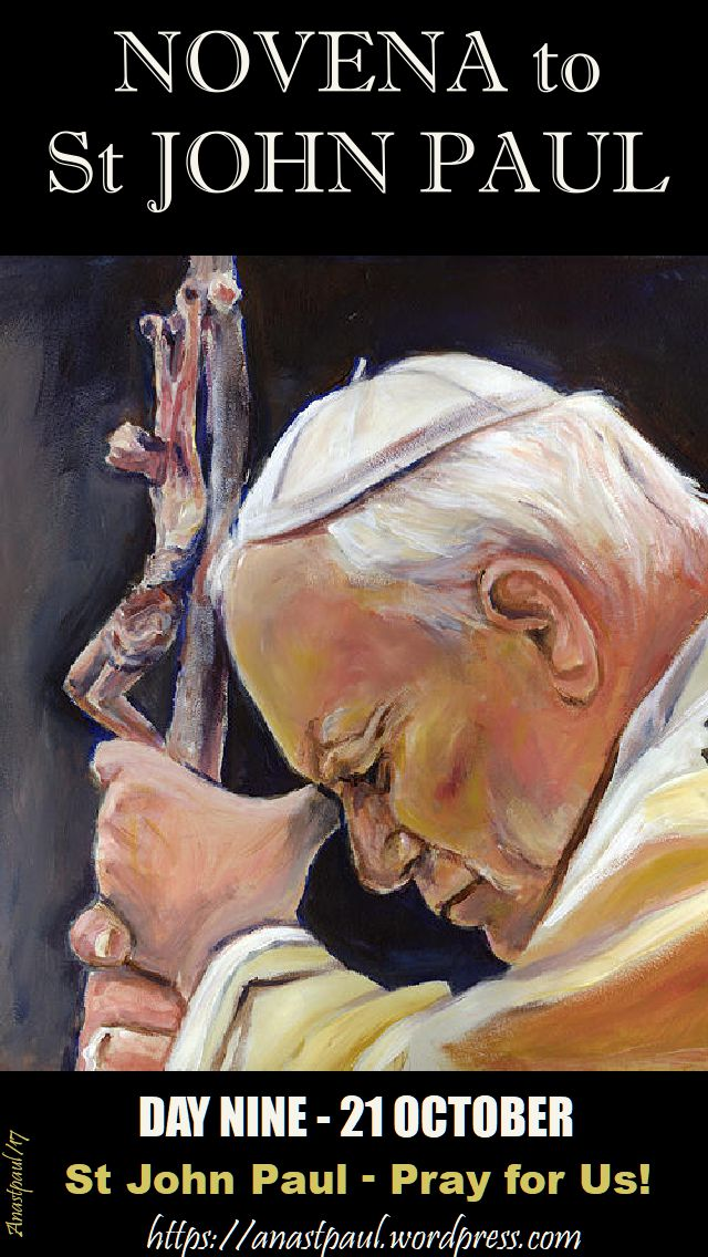 day nine novena st john paul - 21 oct