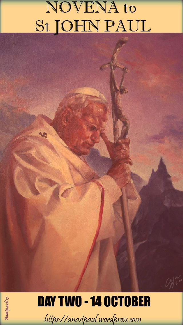 day two - novena st john paul - 14 oct 2017