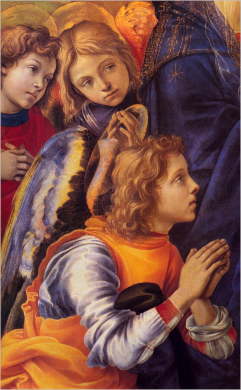 Detail From The Vision of St. Bernard