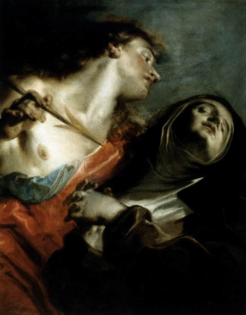 Giuseppe_Bazzani_-_The_Ecstasy_of_St_Therese_-_WGA01527