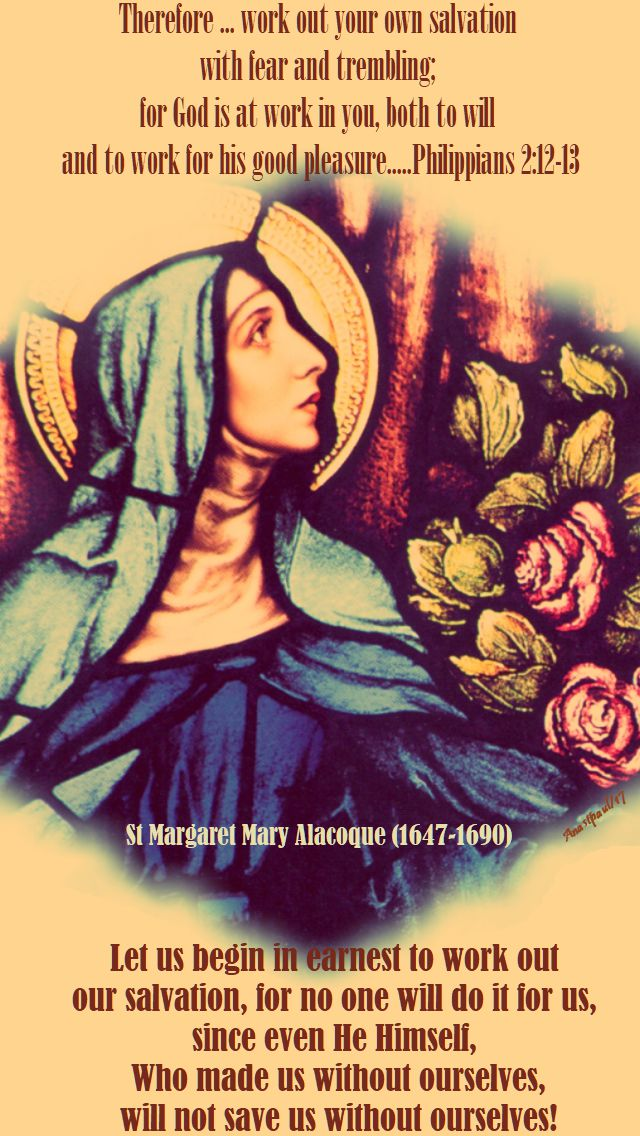 let us begin in earnest - st margaret mary - 16 october 2017