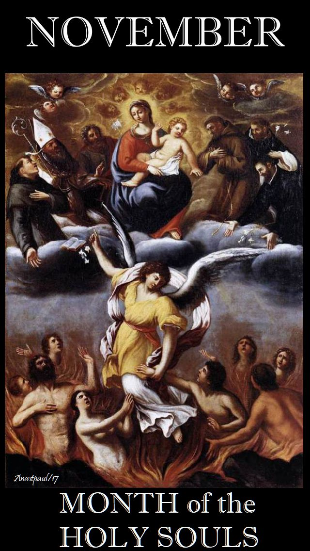 november - the month of the holy souls
