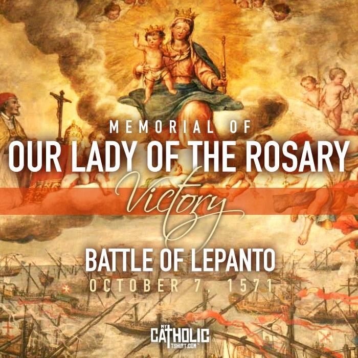 oct 7 - our lady of the rosary