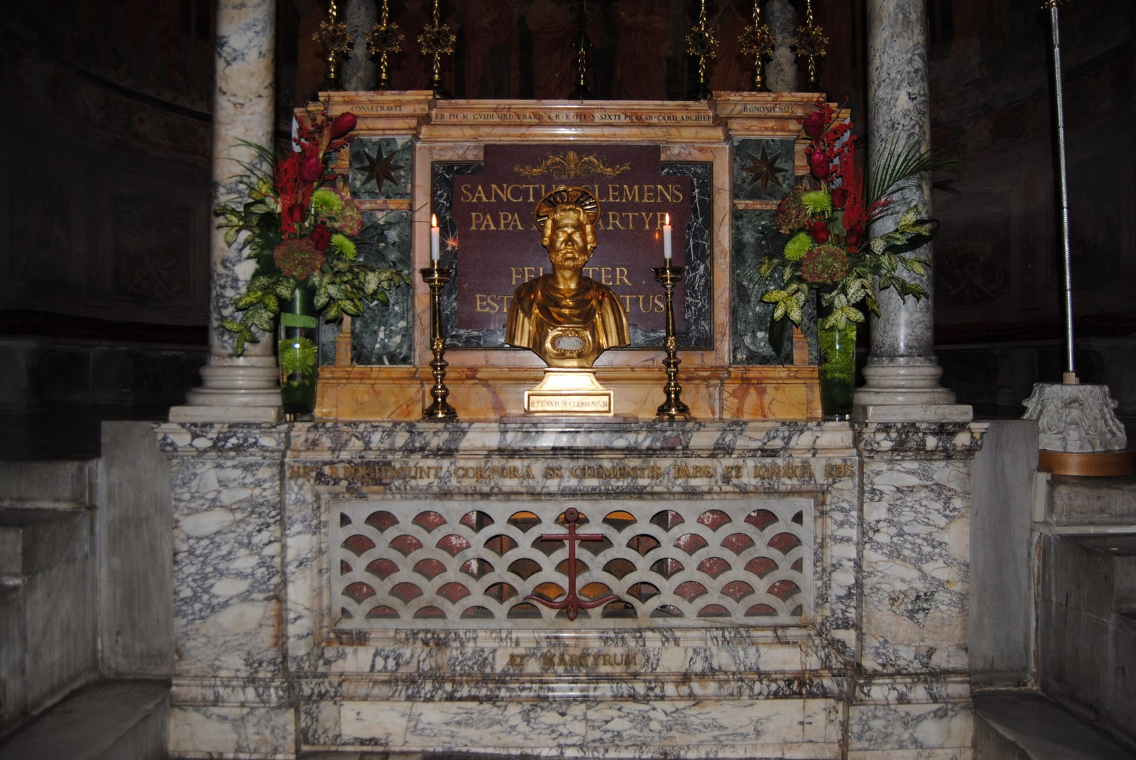 pope st. clement tomb i