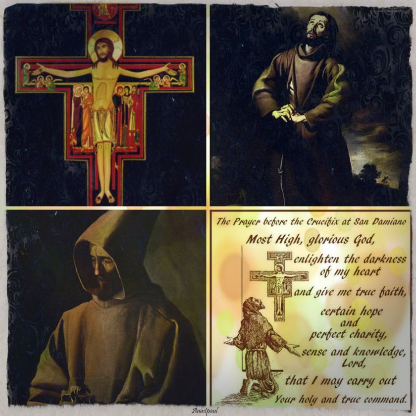 PRAYER BEFORE THE CRUCIFIX SAN DAMIANO.2