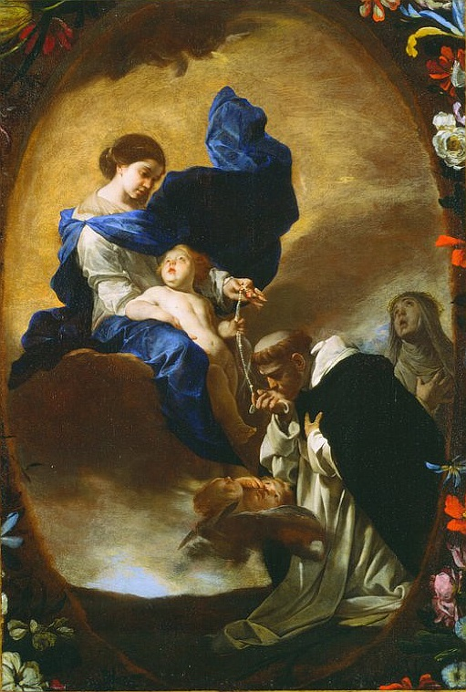 rosary and st dominic
