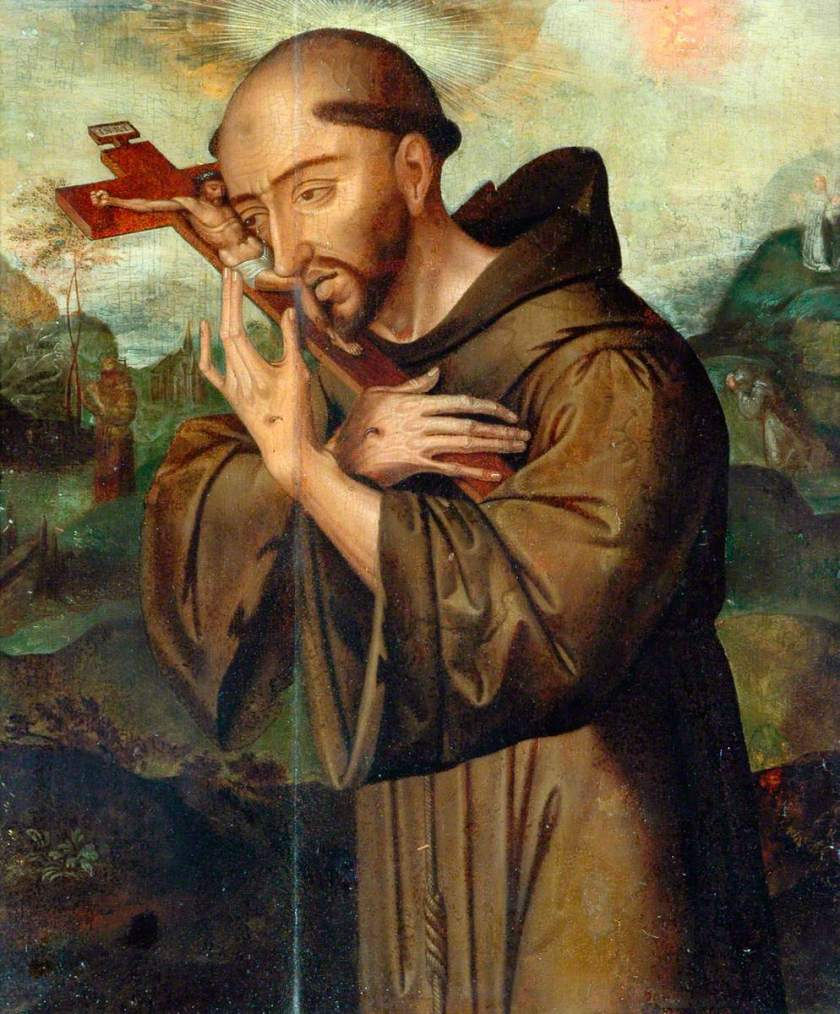 Flemish School; St Francis of Assisi