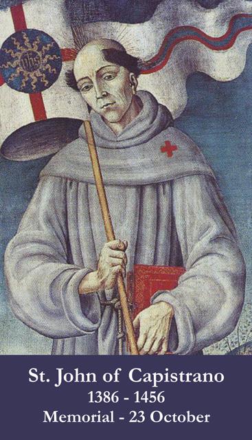 ST JOHN OF CAPISTRANO 1.
