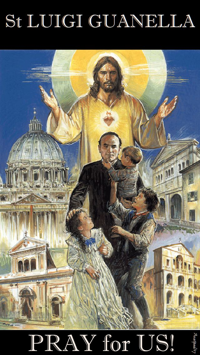 st luigi guanella - pray for us