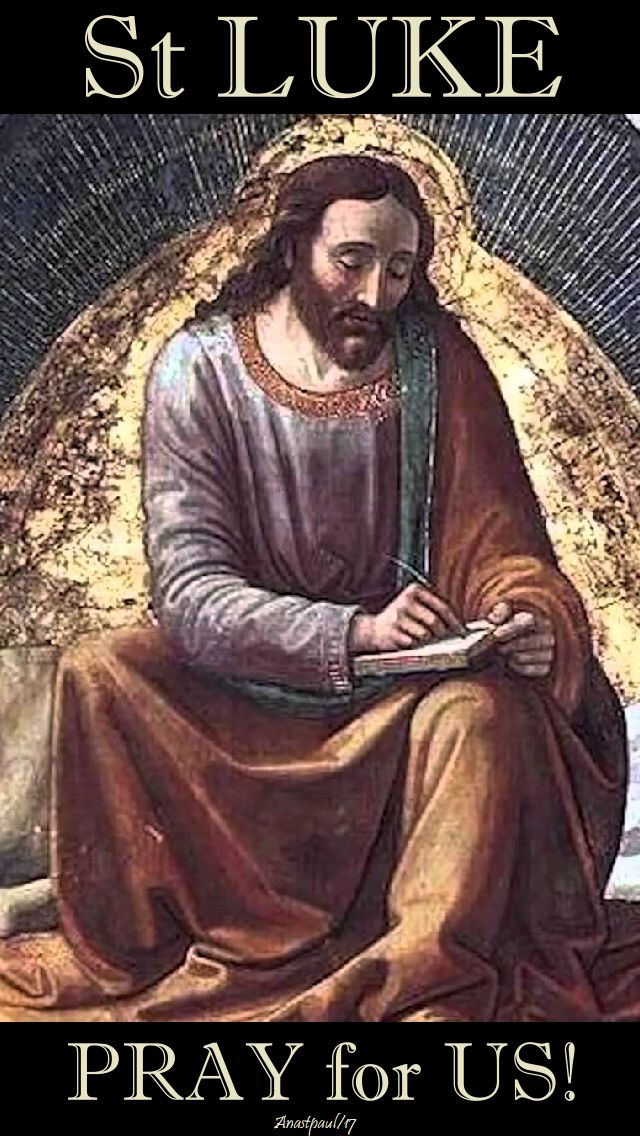 st luke pray for us 18 oct 2017 - no 2