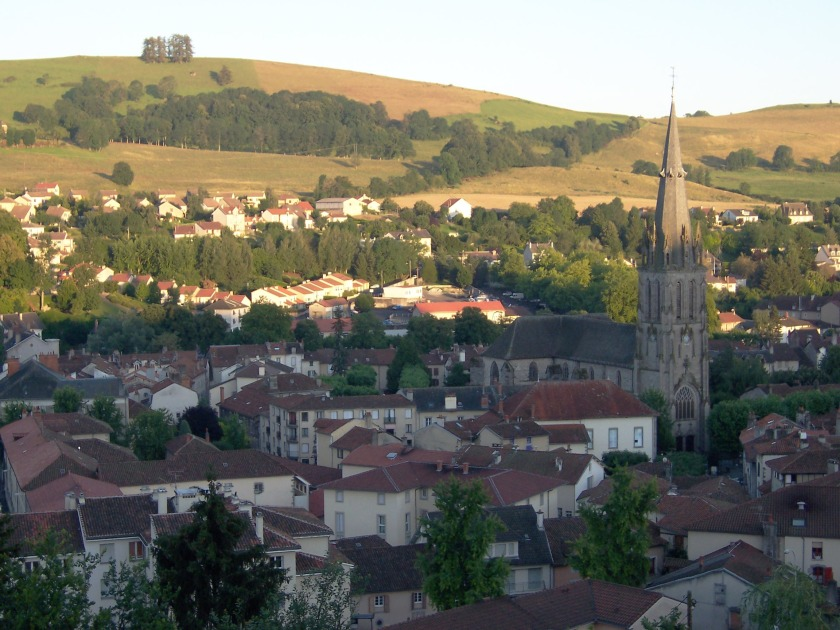 The church of Saint-Géraud and surrounding buildings, in Aurillac known as the Quarter of St Gerald