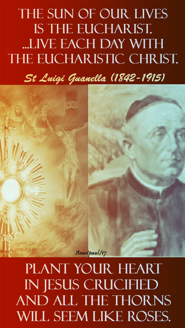 the sun of our lives - st luigi guanella - 24 oct 2017