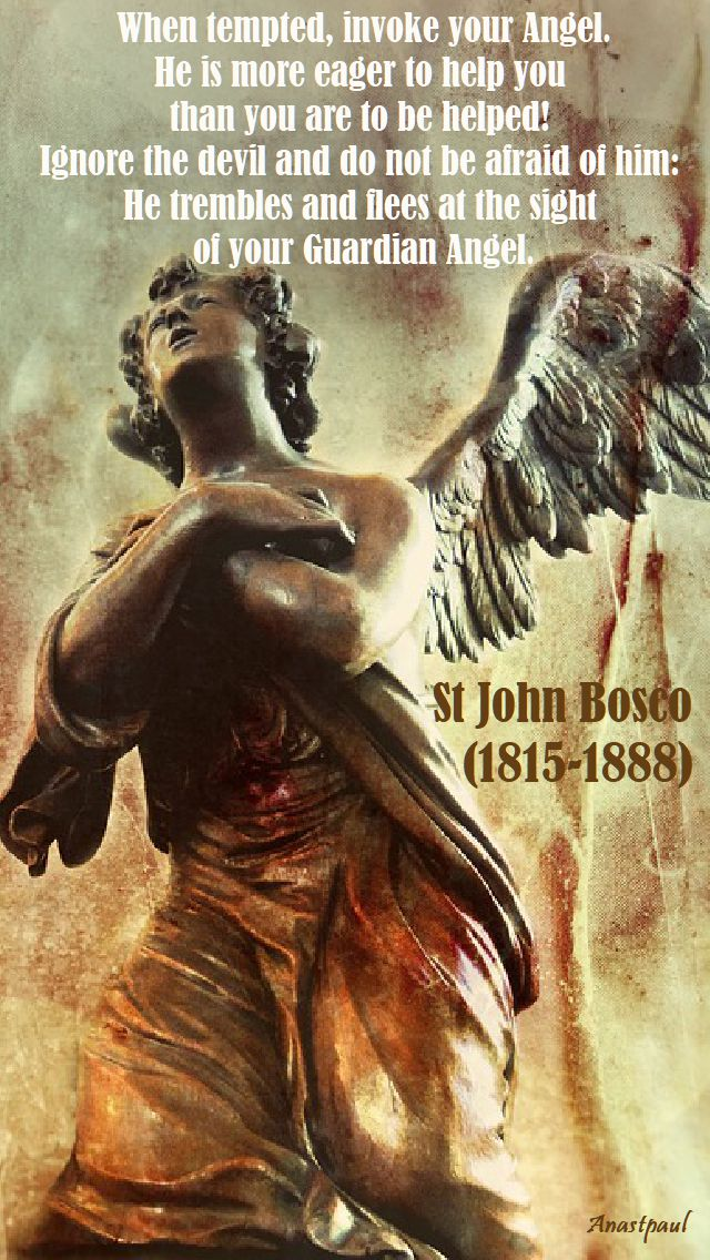 when tempted - st john bosco - 2 oct 2017