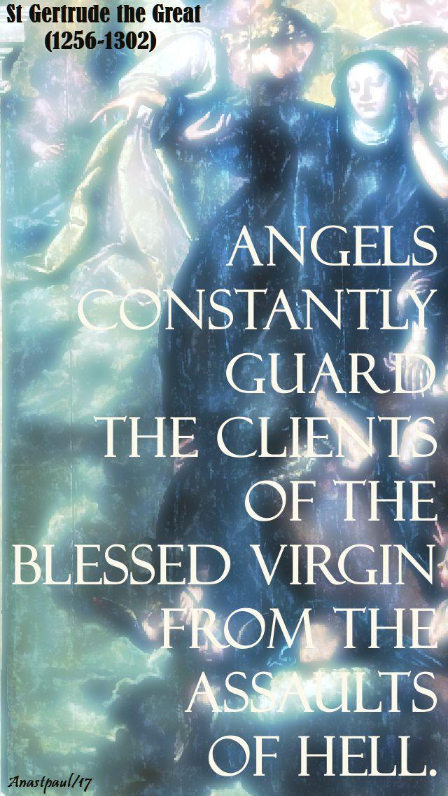 angels constantly guard - st gertrude - 16 nov 2017