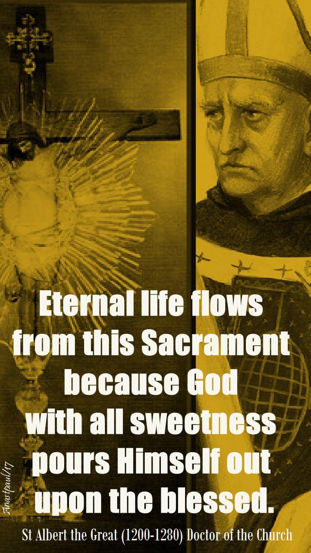 eternal life - st albert - 15 nov 2017