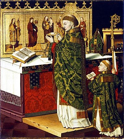 Franconian School -Miraculous Mass of St. Martin of Tours