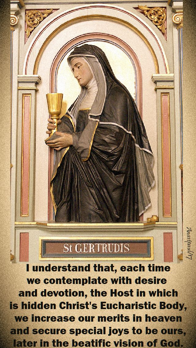 i understand that - st gertrude - 16 nov 2017