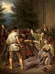 Martyrdom of Josaphat Kuntsevych (c. 1861) by Józef Simmler, National Museum in Warsaw