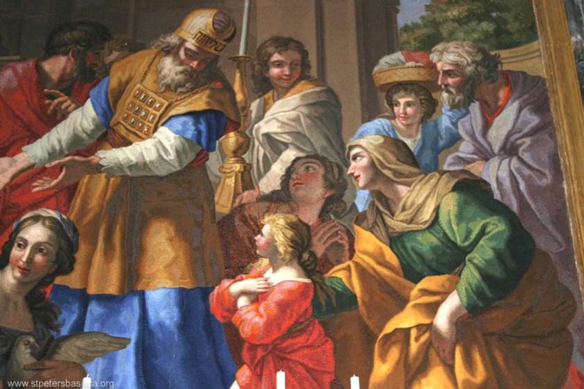 Presentation of the blessed virgin - header