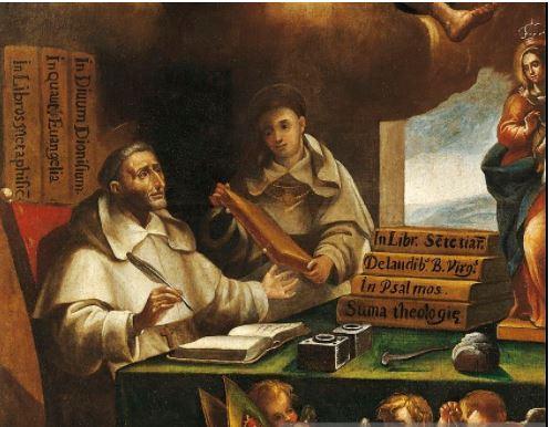 ST ALBERT AND ST THOMAS. getty - my snip