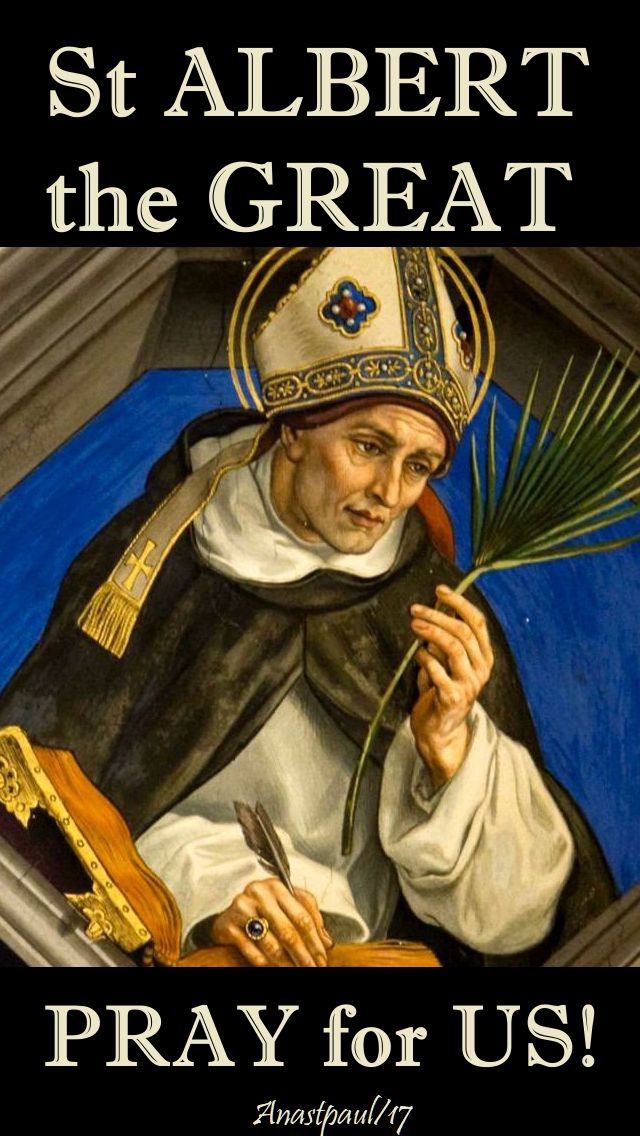 st albert the great - pray for us