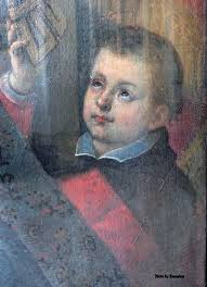 st charles borromeo - as a child.
