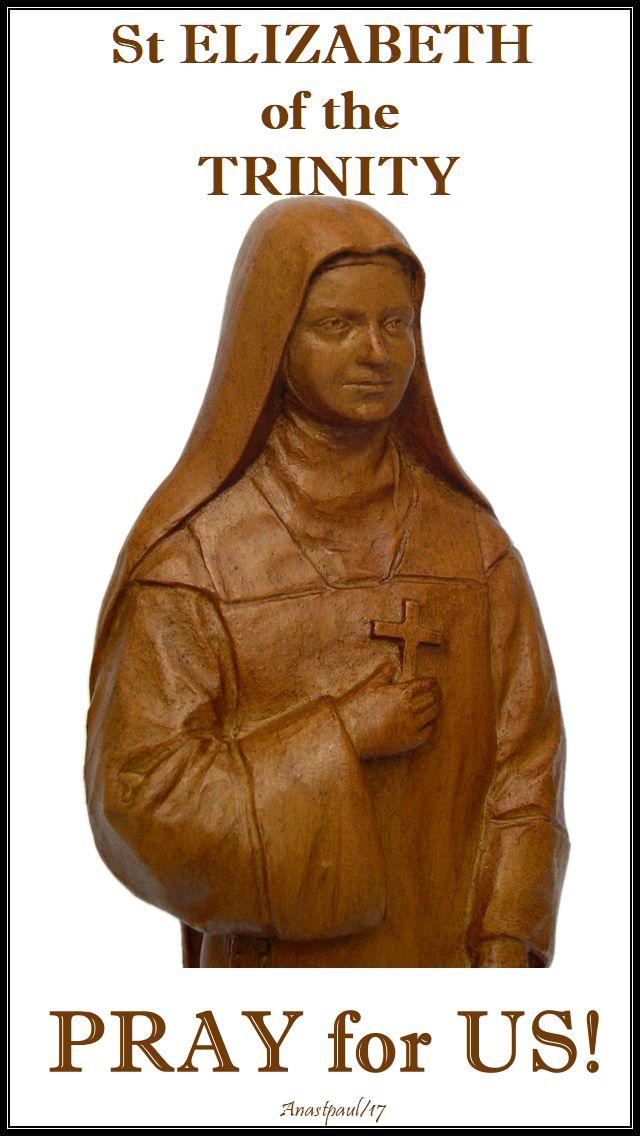 st elizabeth pray for us