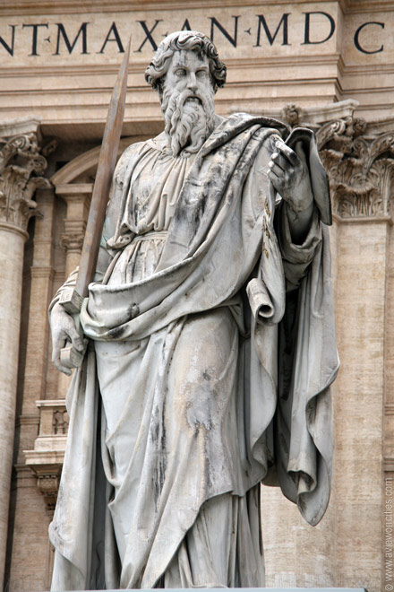 st paul at st peters rome