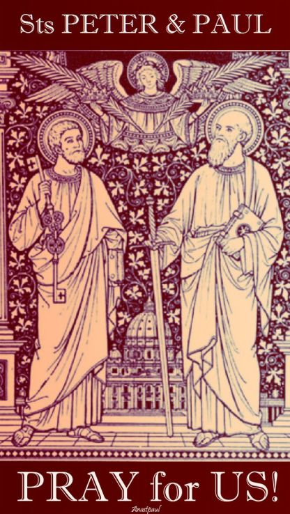 sts peter and paul - pray for us.2