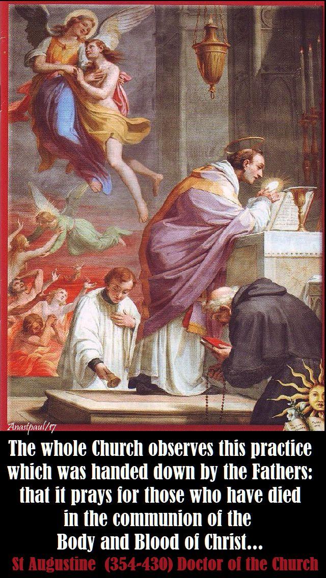 the whole church - st augustine - 2 nov 2017