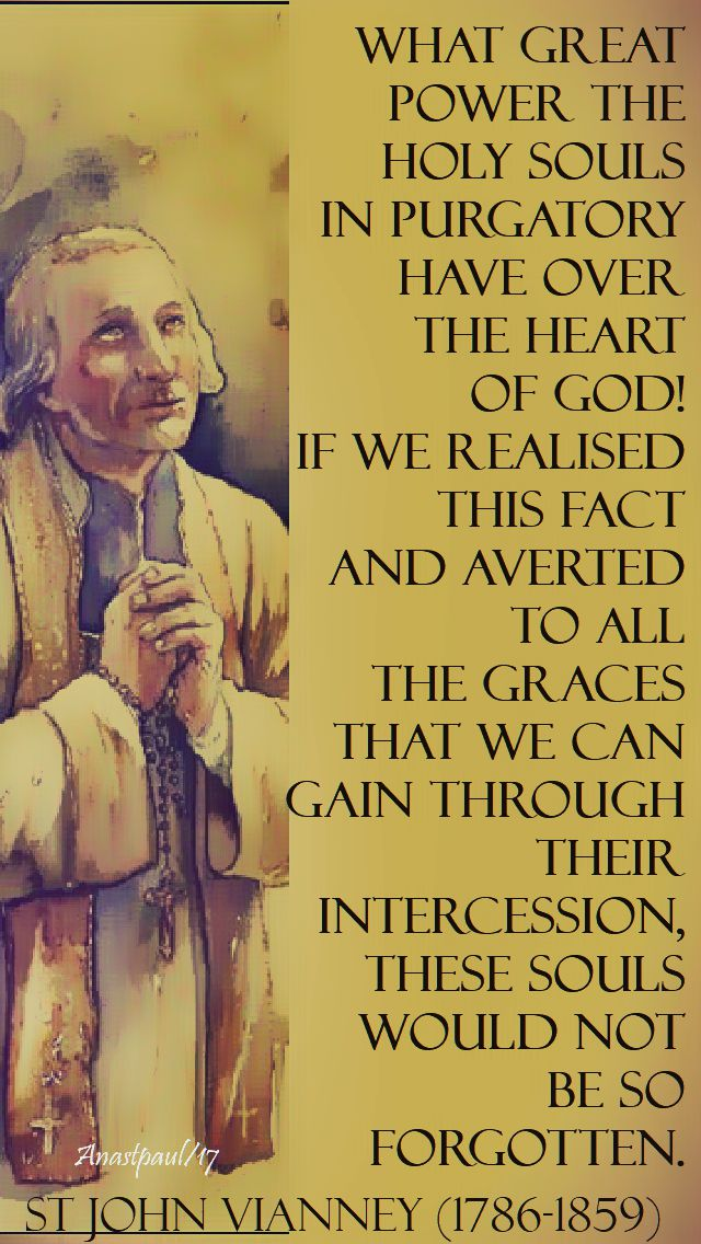 what great power - st john vianney - 2 nov 2017.2