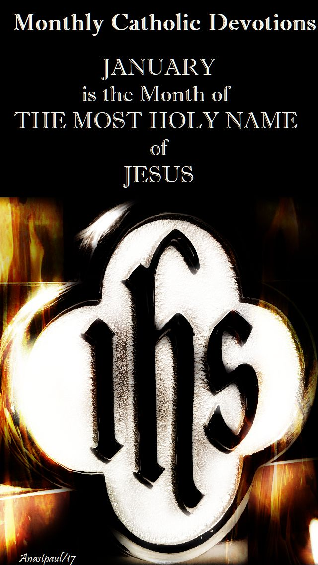 1 january 2018 - the most holy name
