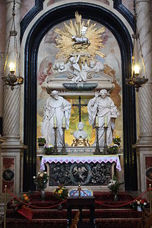 Tomb of Saint John Cantius Church of St Anne, Kraków, Poland
