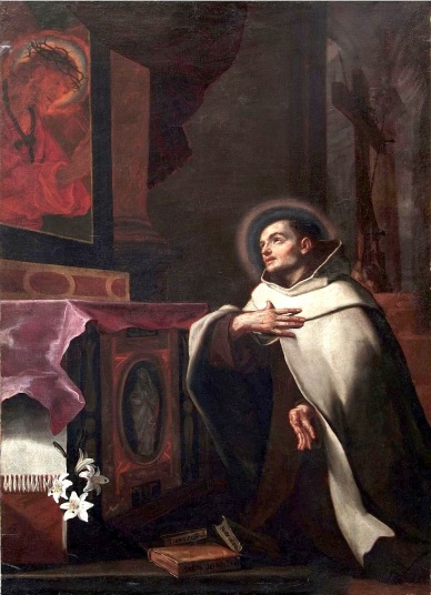 Attributed to Cesare Gennari, Saint John of the Cross, 17th century LARGE