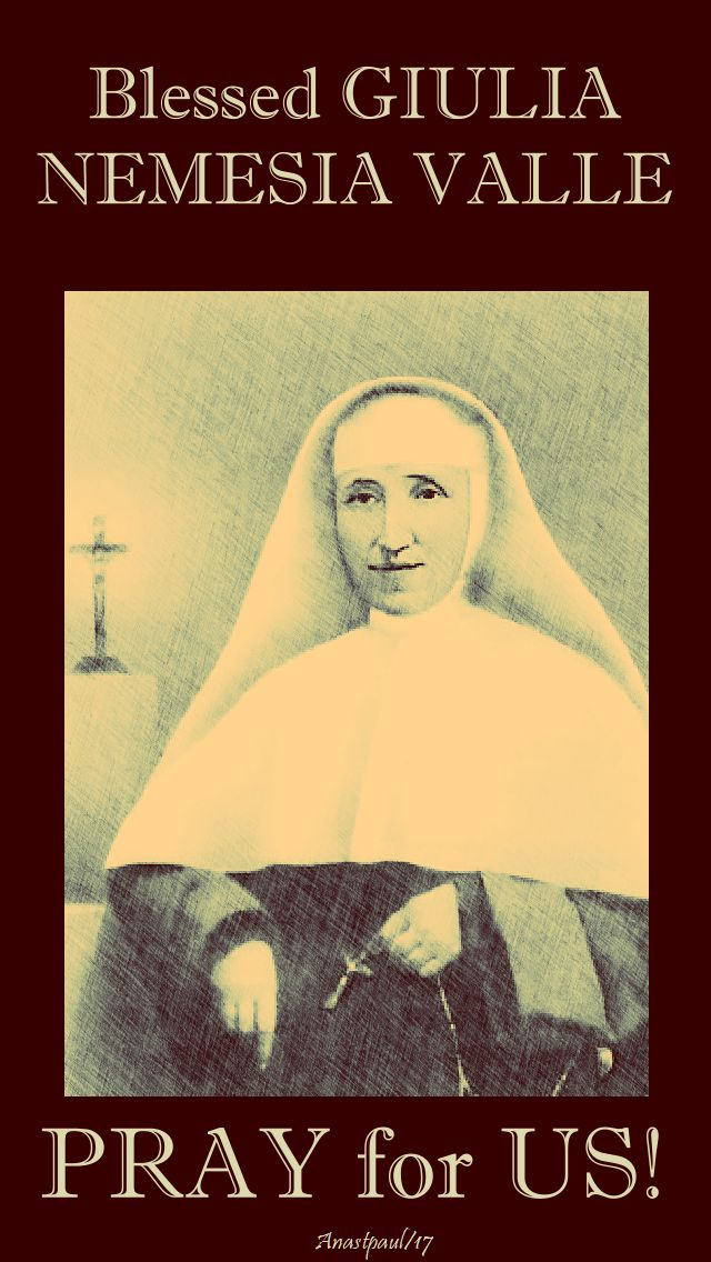 bl giulia valle - pray for us