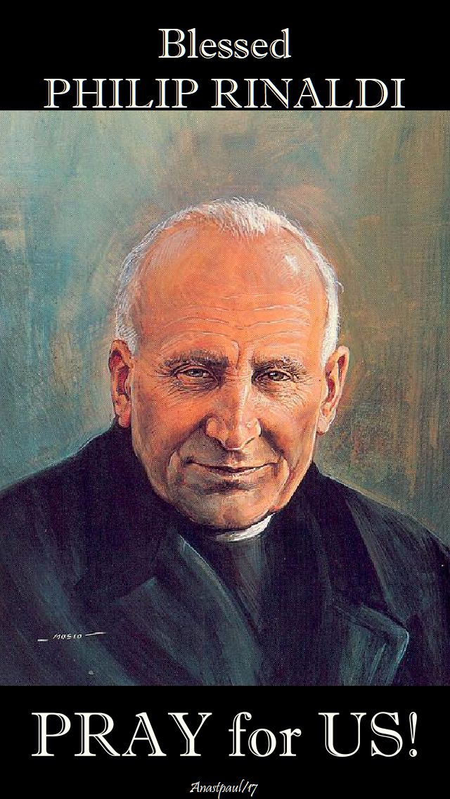 bl philip rinaldi pray for us - 5 dec 2017